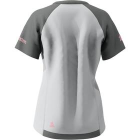 Zimtstern PureFlowz SS Shirt Women glacier grey/gun metal/blush